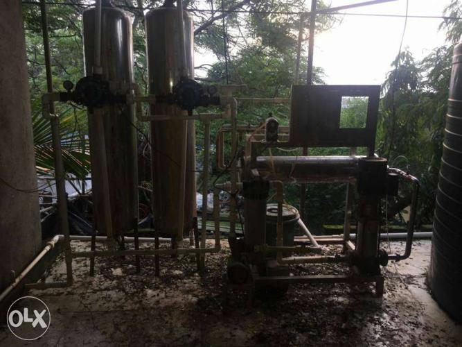 1000 Liter per hour R.O filter water plant
