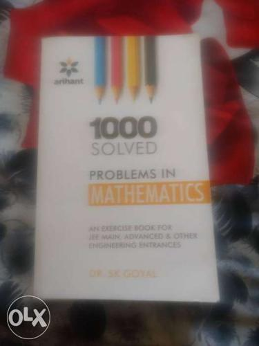 1000 Solved Problems In Mathematics Book