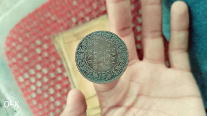 100 saal purana coin