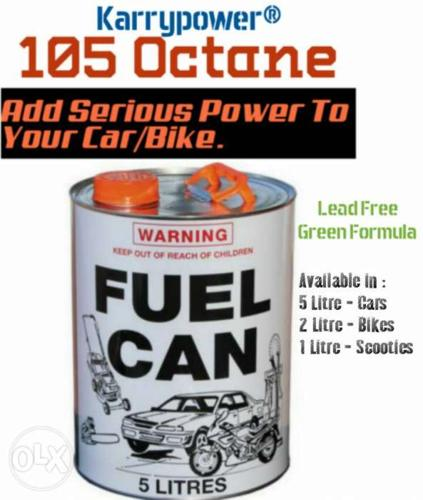 105 Octane - High power racing-fuel formula. A must for