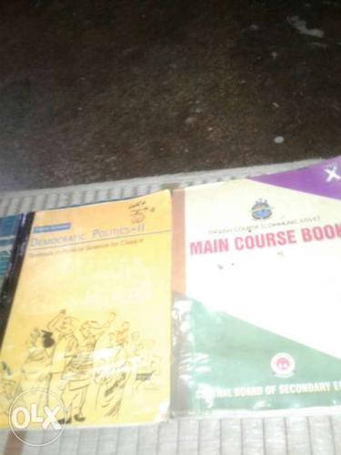10 class ki English ki aur civics ki book h