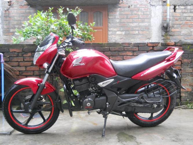 10 Month Brand new Honda CB Unicorn at just 58000.