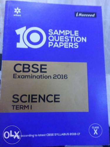 10 Sample Question Papers CBSE Examination 2016 Book
