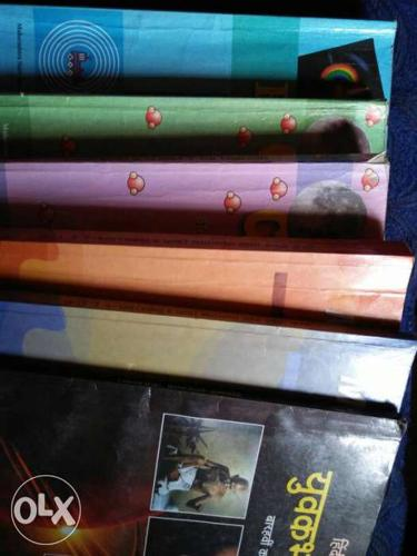 12 the science books physics, chemistry 1&2,maths