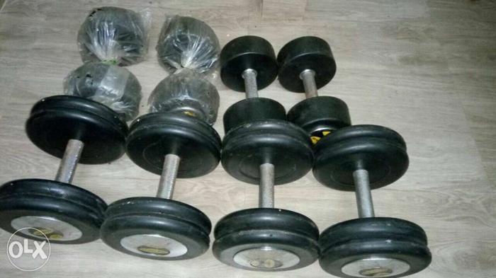 15 KG 2 Sets , 17.5 KG 1 Set and 20 KG 1 Set (2