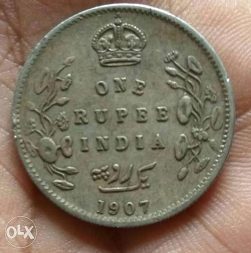 1907 British antic coin