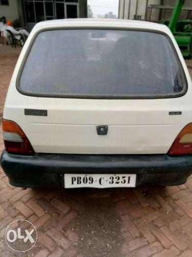 1999 Maruti Suzuki 800 petrol 80000 Kms