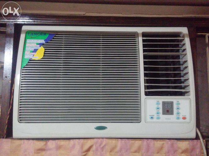 1 5 Ton Lancer Window AC with remote (Kirloskar compressor