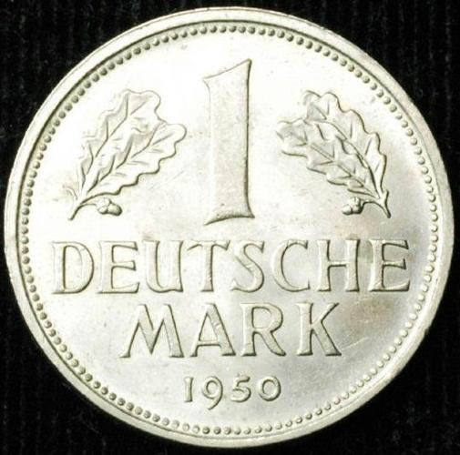 1 deutsche mark coin 1950 for sale in jalandhar punjab. Black Bedroom Furniture Sets. Home Design Ideas