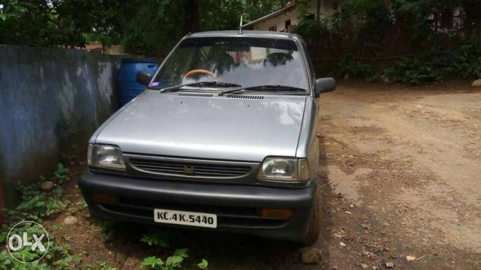 2001 Maruti Suzuki 800 petrol 92000 Kms
