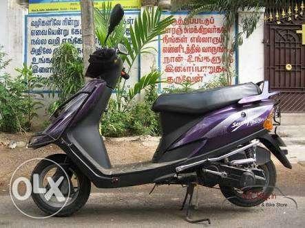 2001 TVS Scooty 5000 Kms