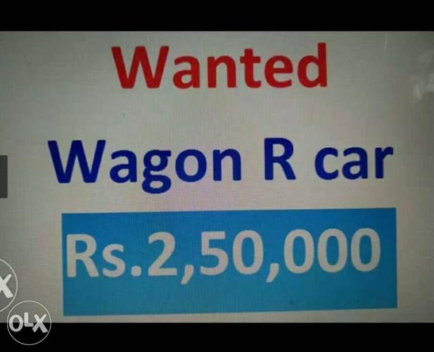 2011 Maruti Suzuki Wagon R 1.0 petrol 40000 Kms