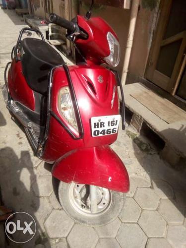 2011 Suzuki Access 15000 Kms