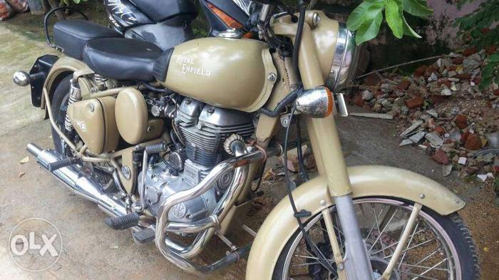2012 Royal Enfield Classic 18000 Kms