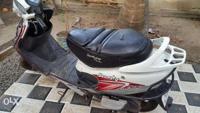 2012 Scooty pep+ for sale