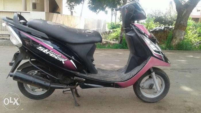 2012 TVS Scooty 29632 Kms