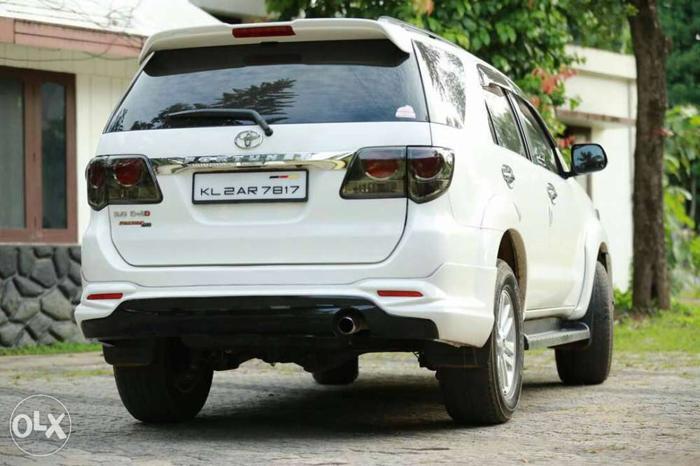 2014 Toyota Fortuner diesel 49000 Kms