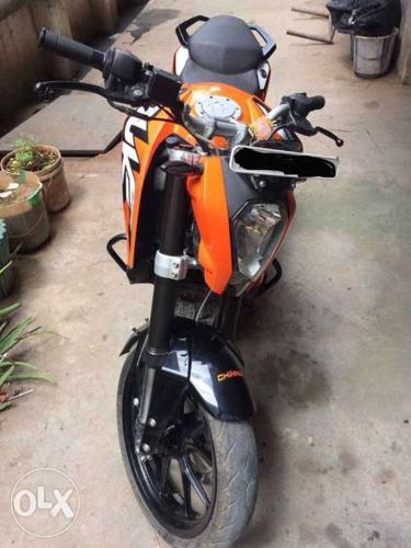 2015 KTM Duke 200 12000 Kms