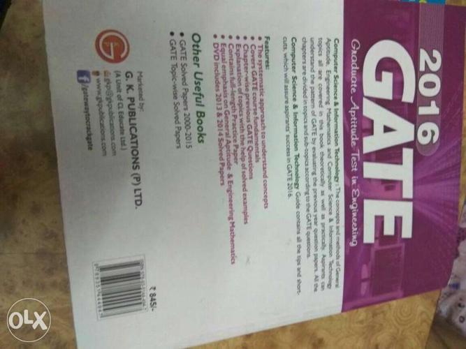 2016 GATE Workbook