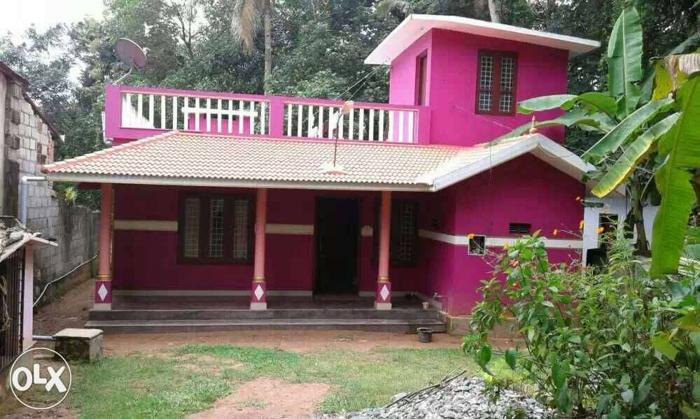 25 cent plot and house. Exact location Kundara mulavana