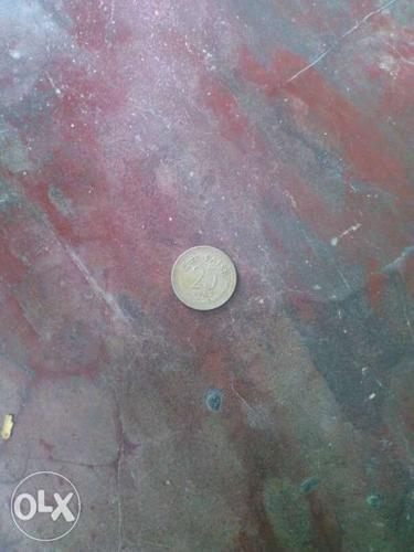 25 Indian Paise Coin