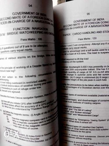 2MFG MMD question paper book