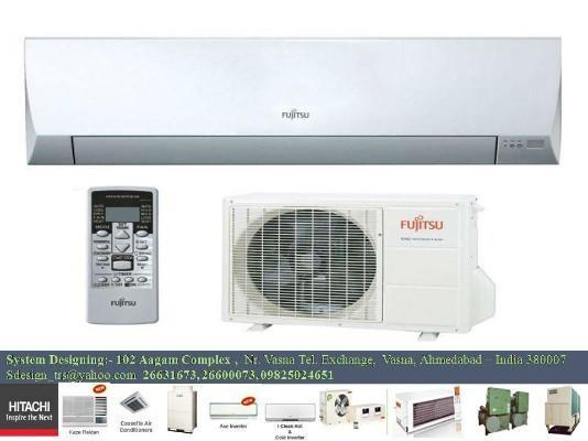(345) Inverter Air conditioner FUJITSU ASYG 12 LMCA