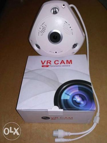 360° Wireless IP Night Vision CCTV Camera