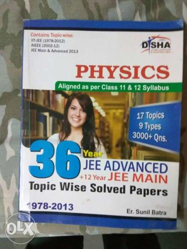 36 years JEE advance+12 year JEE main solved