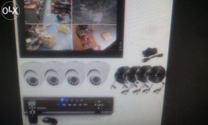 3 CCTV IR Bullet Camera 1 IR Dome Security Surveillance