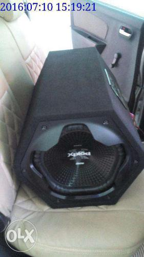 3 month old sony xplod 1300 with sony 350w amp for Sale in
