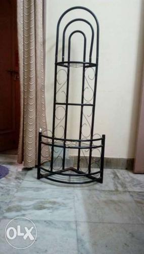 4 layer corner stand
