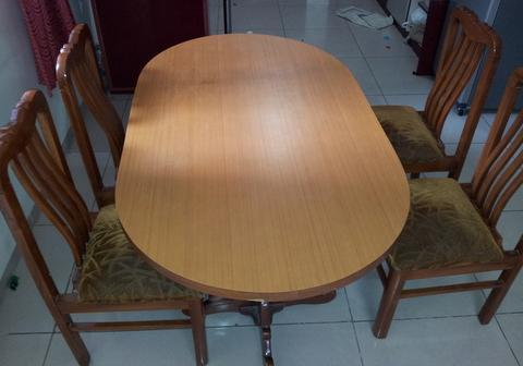 dining table with 4 chairs for sale in bangalore karnataka for sale