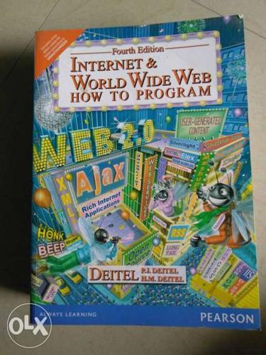 4th Edition Internet & World Wide Web Hot To Program
