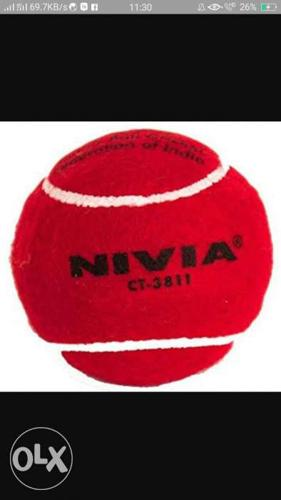 550rs for 12hard tennis nevia ball