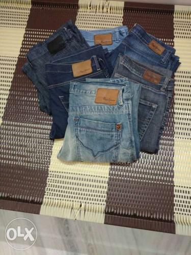 6 original Pepe jeans pant waist size 32