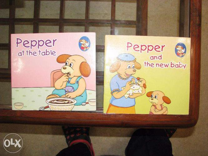 6 story books for 3 to 6 year olds :