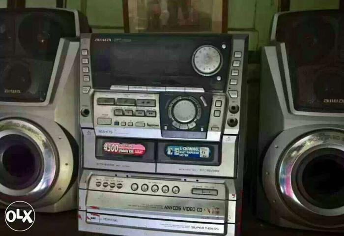Aiwa 4500w Pmpo Hi-fi System In Very Good for Sale in North 24
