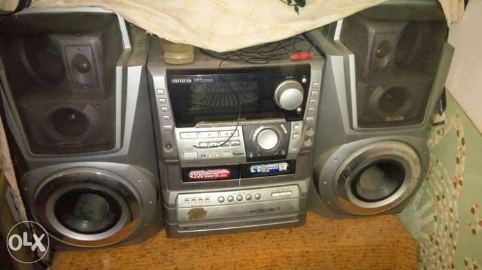 Aiwa Music System With 4500 Watt Pmpo For Music For Sale In