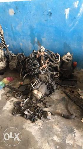All engine and car old spare parts avaliable. Cheap