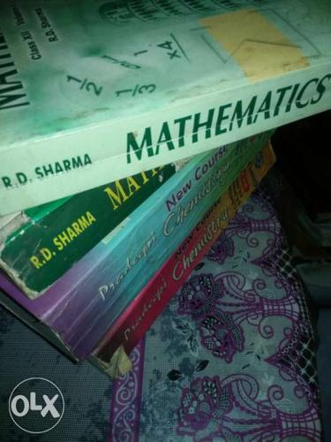 All NCERT(math+chemistry +physics+english)+