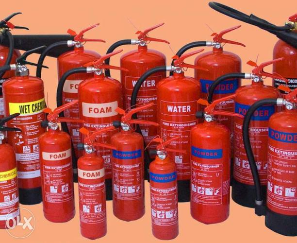 All Types Fire Extinguishers Sales