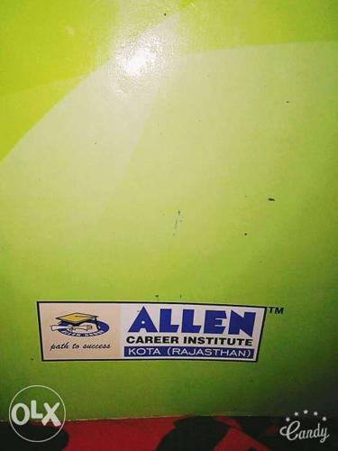 Allen Kota all modules physics chemistry biology total notes for