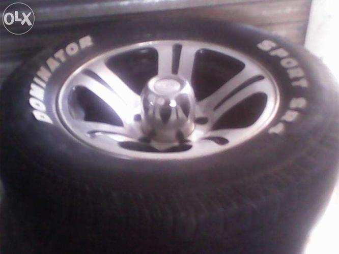 Alloy wheels with Tyres for Sale in Patiala, Punjab Classified