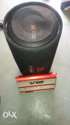 Alpine v12 Amplifier & Bass tube JBL 1150 watt for Sale in