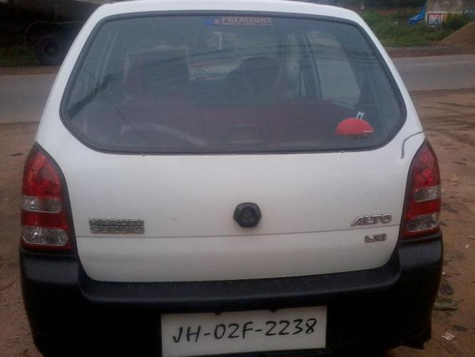 alto lxi 2005 white colour well maintain