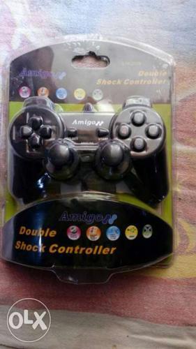 AMIGO double shock game controller