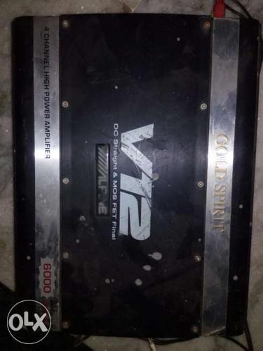 Amplifier alpine 6000 watts 4 channel for Sale in Ghaziabad