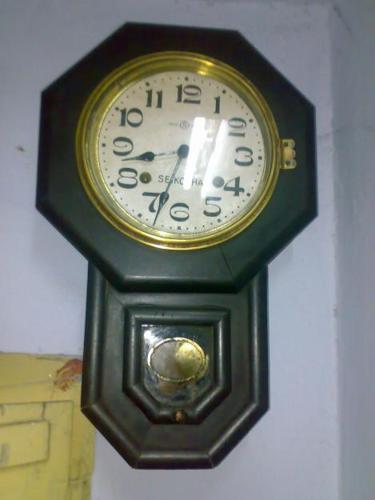 antique seikosha pendulum wall clock for sale for sale in