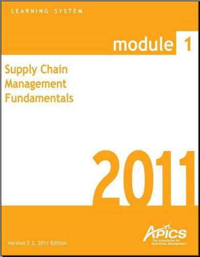 certified supply chain analyst study guide